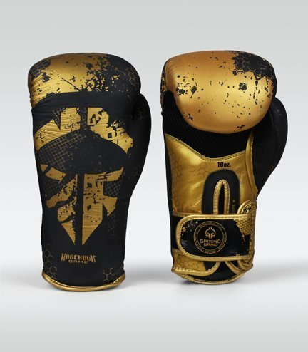 "Boxerské rukavice Ground Game  ""Cage Gold"" 10 oz"