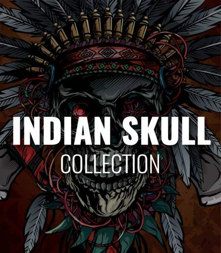"Kolekce ""Indian Skull"""