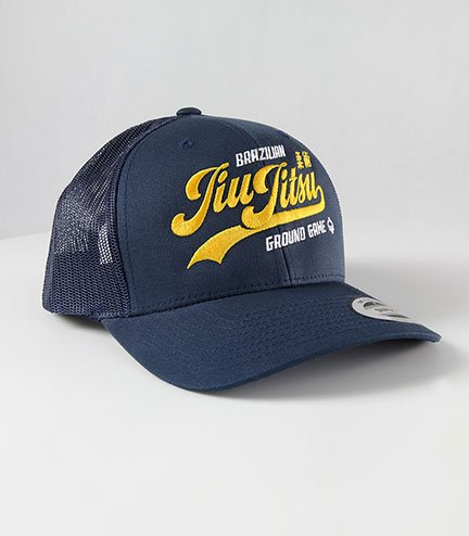 "Kšiltovka Ground Game ""Jiu Jitsu Navy Trucker"""