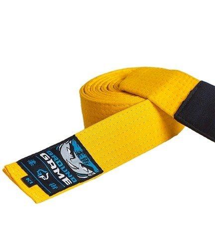 Pásek BJJ Ground Game dětský (Žlutý)