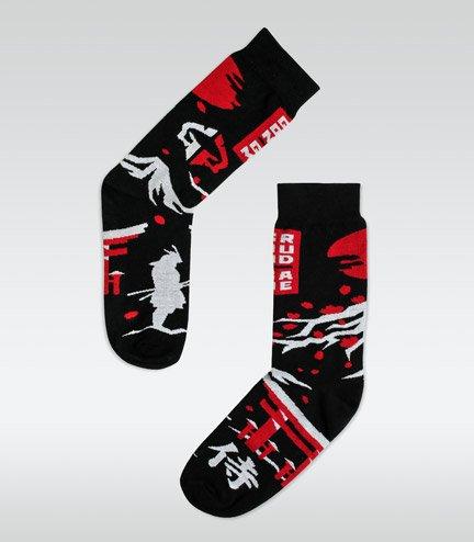 """Ponožky """"Japan"""" černé"""