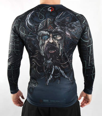 "Rashguard Ground Game ""Odyn"" dlhý rukáv"
