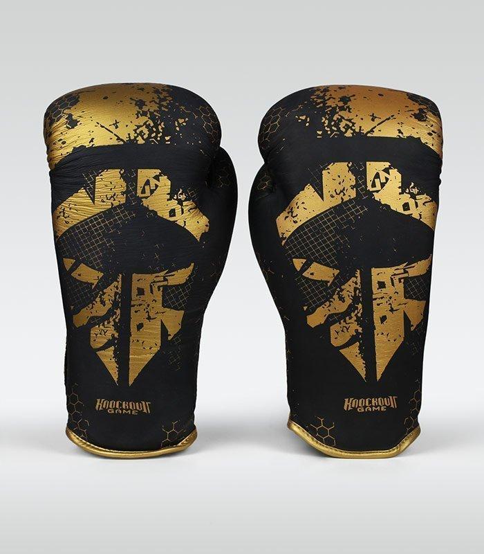 "Boxerské rukavice Ground Game ""Cage Gold"""