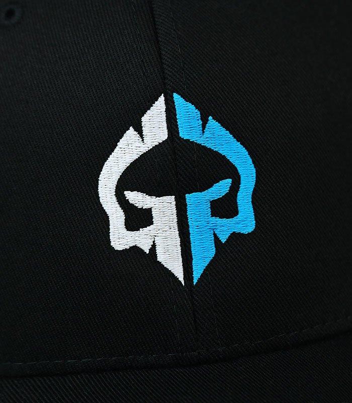 """Dětská kšiltovka Ground Game """"Logo"""" Černá"""