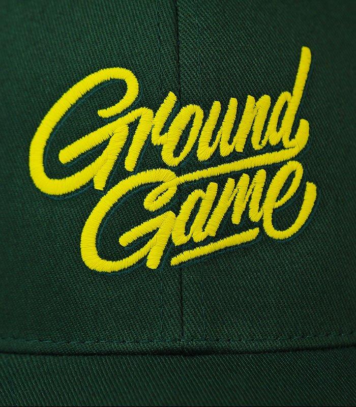 """Dětská kšiltovka Ground Game """"Tag"""" Zelená"""