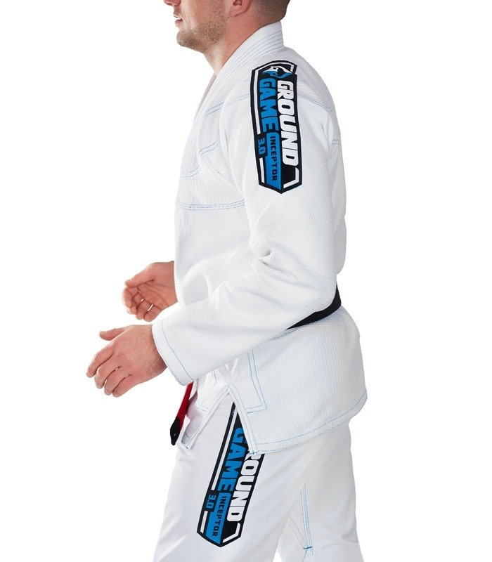 "Kimono Gi BJJ  Ground Game ""Inceptor 3.0"" (Bílé)"