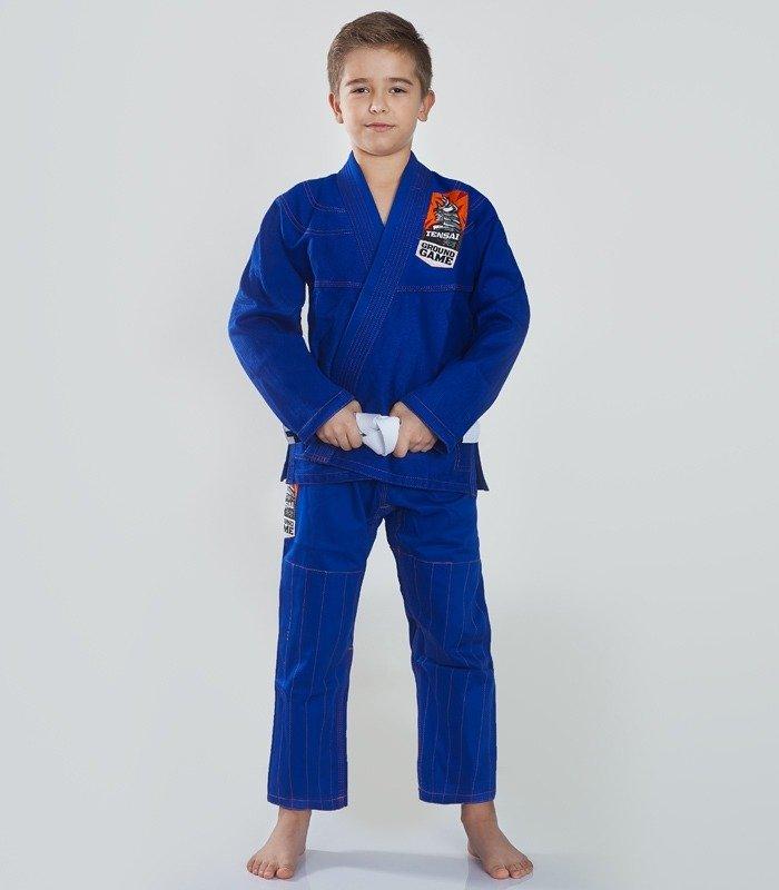 """Kimono Gi BJJ dětské """"Tensai"""" (Modré) + pásek ZDARMA"""