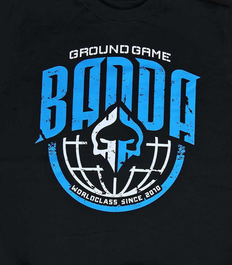 """Pánská mikina Ground Game """"GG Banda"""" černá"""