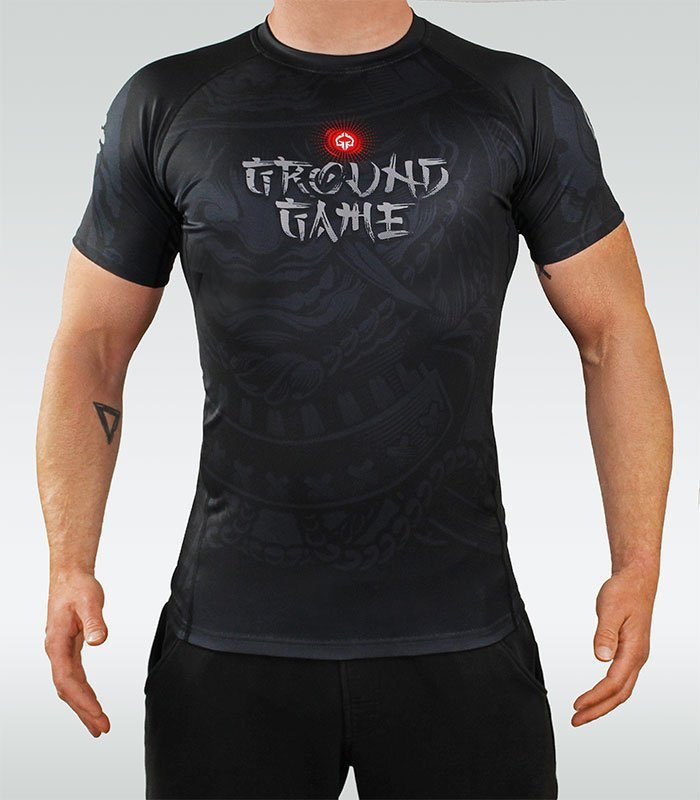 "Rashguard Ground Game ""Samurai"" 2.0"