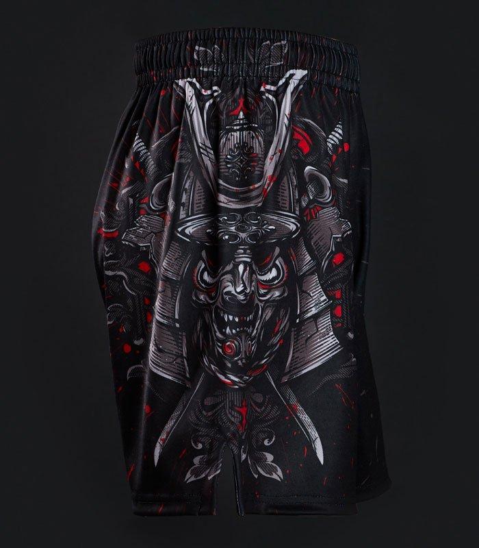 """Tréninkové šortky  """"Samurai Mask"""""""
