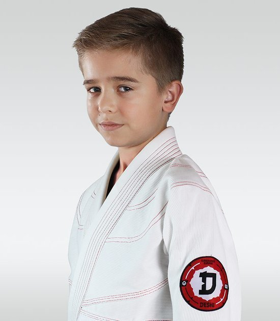 """Dětské kimono GI pro Judo Ground Game  """"Deshi"""" (Bílé)"""