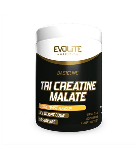 Evolite Tri Creatine Malate 300g Exotic Twist