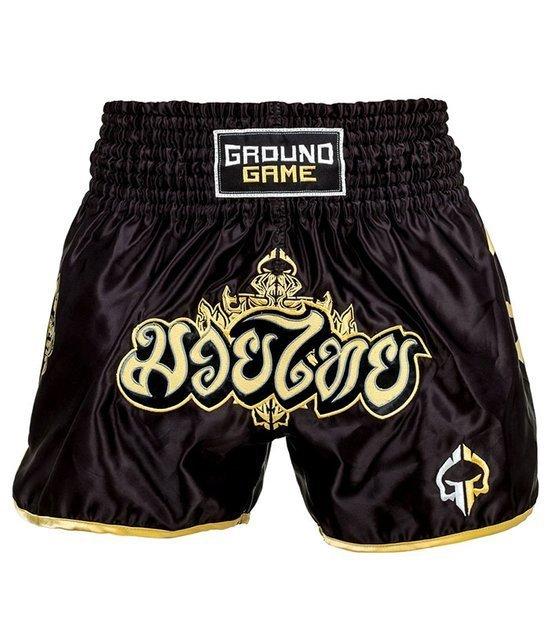 "Kraťasy Muay Thai Ground Game ""Gold"""