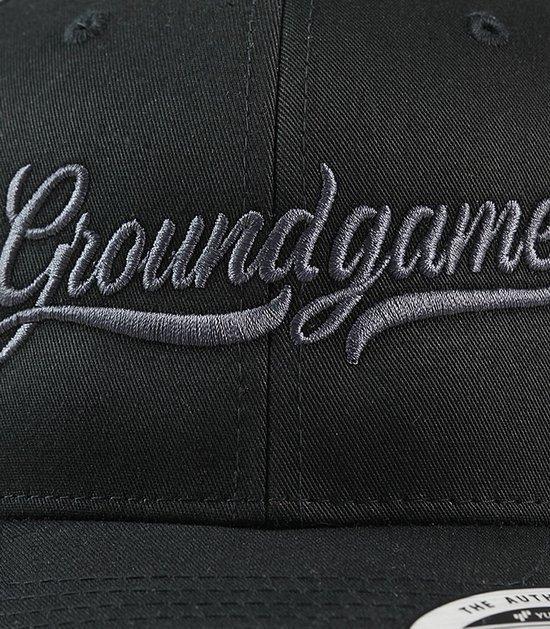 """Kšiltovka Ground Game """"College Shadow"""" Černá"""