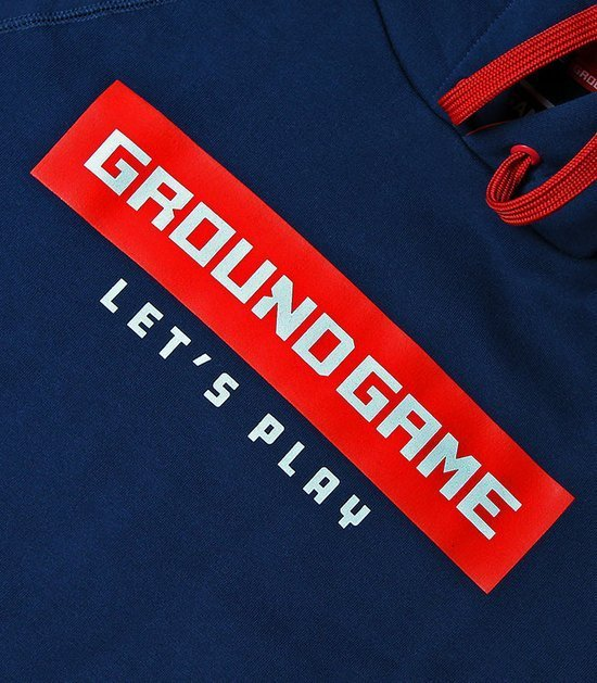 """Pánská mikina s kapucí Ground Game  """"Stripe"""""""