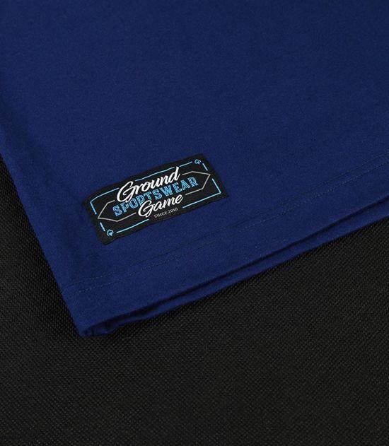 "Pánské tričko Ground Game ""Minimal"" Tmavě modré"