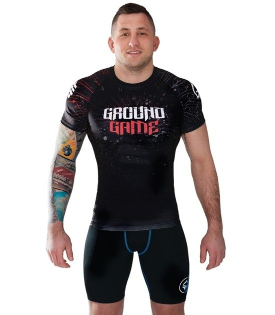 "Rashguard Ground Game ""Samurai"""