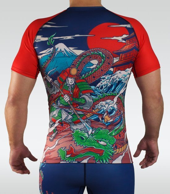 "Rashguard Ground Game ""Tatakai"""