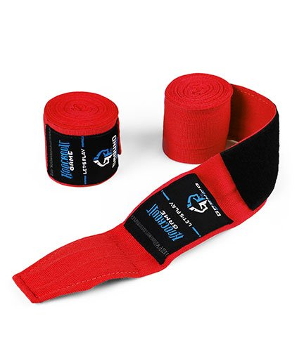 "Hand Wraps ""Classic"" Red"