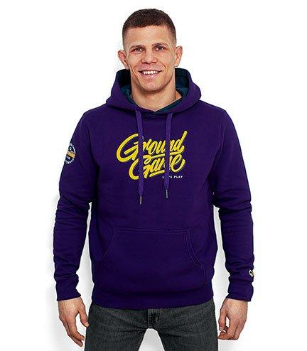 """Hoodie """"Tag"""" Purple"""