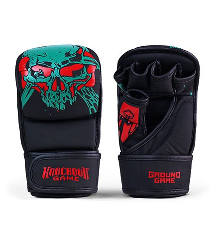 """MMA Sparing Gloves """"Toxic"""""""