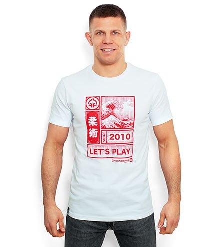 "T-shirt ""Kanagawa"" White"