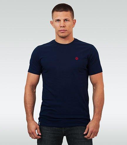 "T-shirt ""Minimal 2.0"" Navy Blue"