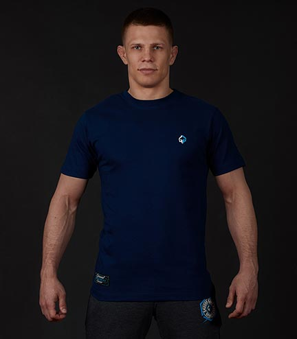 "T-shirt ""Minimal"" Navy blue"