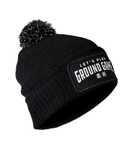"Winter Hat ""Ground Game"" Black"