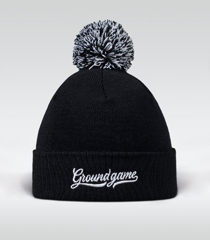 "Winter Hat ""Vinted"" (black)"
