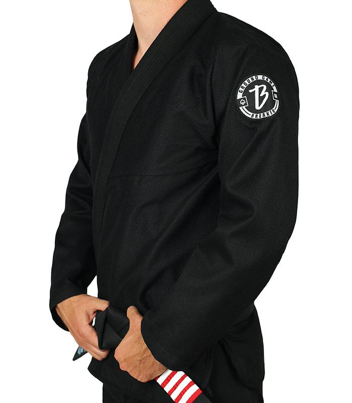 """BJJ GI Jacket """"Breaker"""" Black"""
