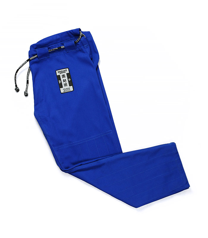 """BJJ GI Pants """"Breaker"""" Blue"""