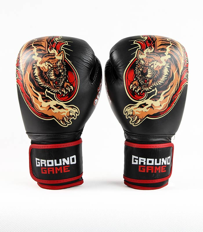 "Boxing Gloves PRO ""Red Tiger"" 14 oz"