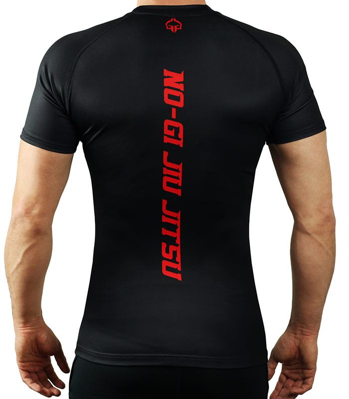 IBJJF Rank Rash Guard for BJJ - Black
