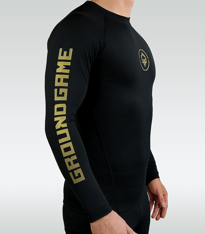 "Rashguard ""Athletic Gold"" long sleeve"