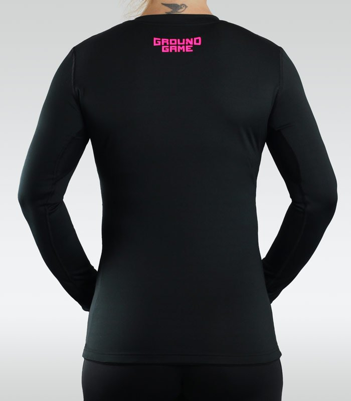 "Rashguard ""Athletic"" Pink long sleeve"