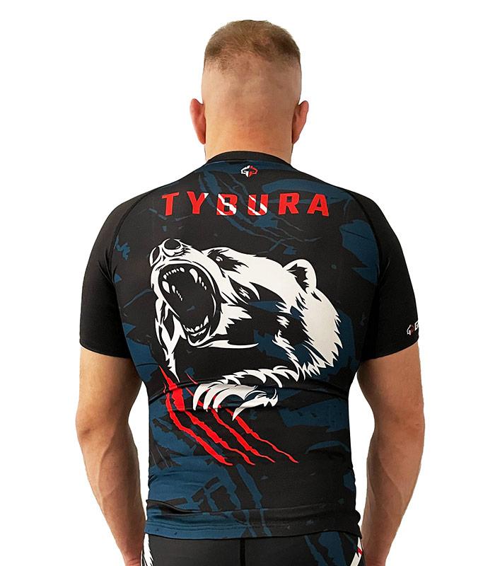 """Rashguard """"Marcin Tybura"""" short sleeve"""