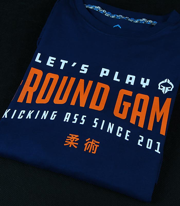"T-shirt ""Player"" Navy Blue"