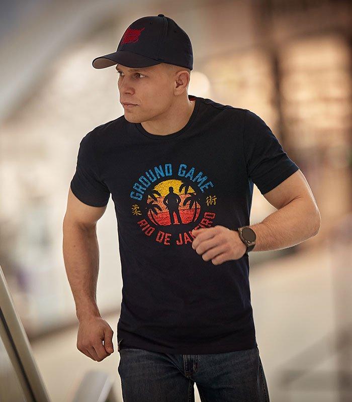 "T-shirt ""Rio de Janeiro"" Navy"