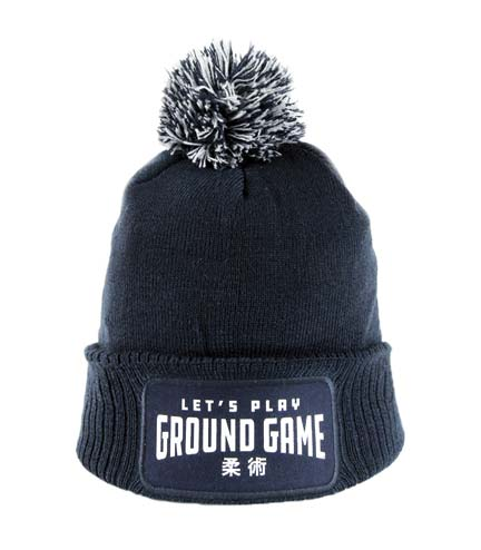 "Winter Hat ""Ground Game"" navy blue"
