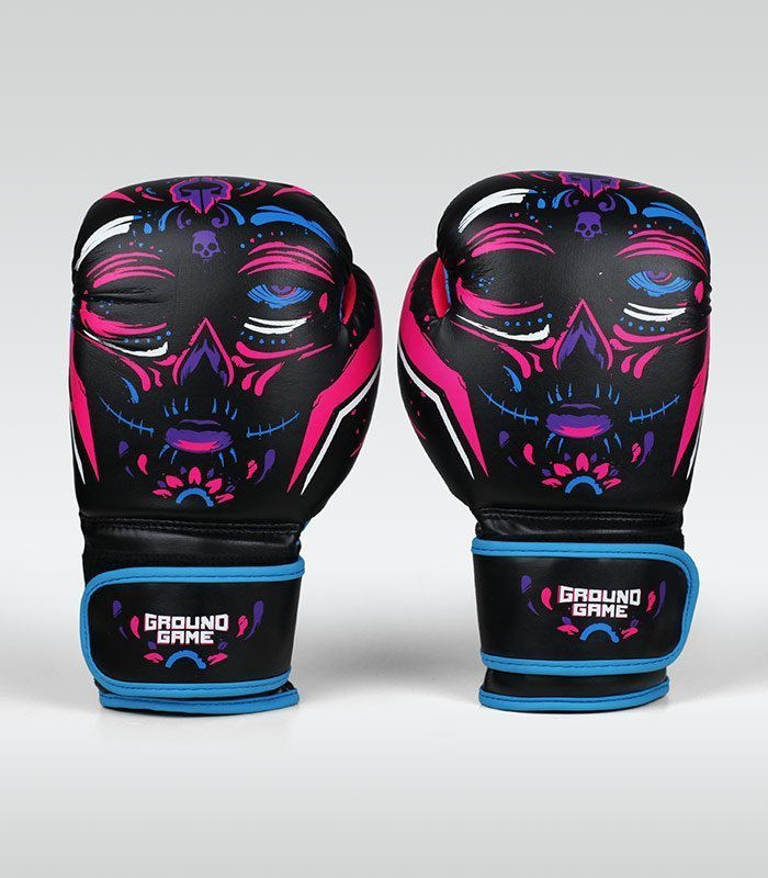 "Women's Boxing Gloves ""La Muerta"" 12 oz"
