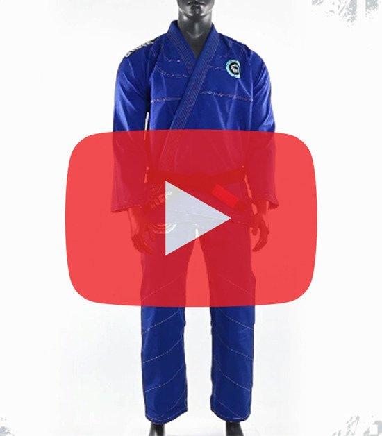 "BJJ GI ""Balance 2"" (Blue)"