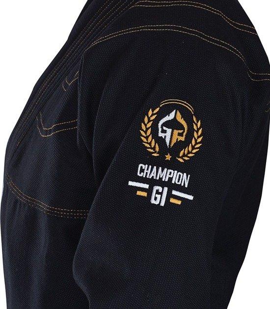 "BJJ GI ""Champion"" (Black)"