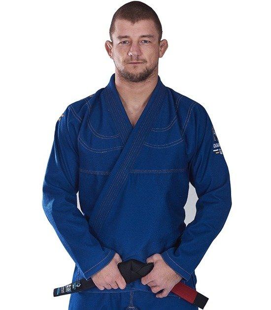 "BJJ GI ""Champion"" (Blue) + FREE Belt"