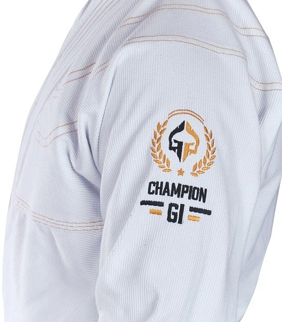 "BJJ GI ""Champion"" (White)"