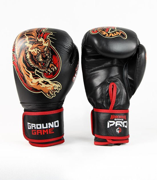 "Boxing Gloves PRO ""Red Tiger"" 12 oz"