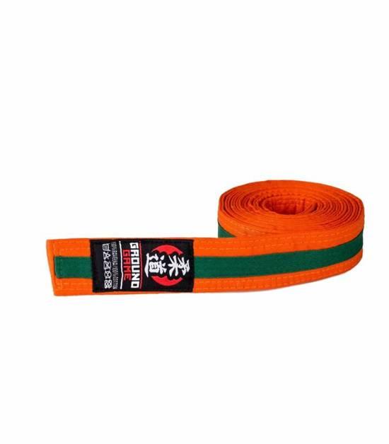 Judo Kids Belt Orange-Green