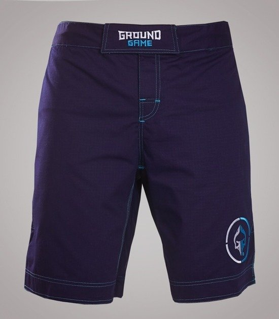 "MMA Shorts ""Athletic"" Ripstop (Dark Navy)"