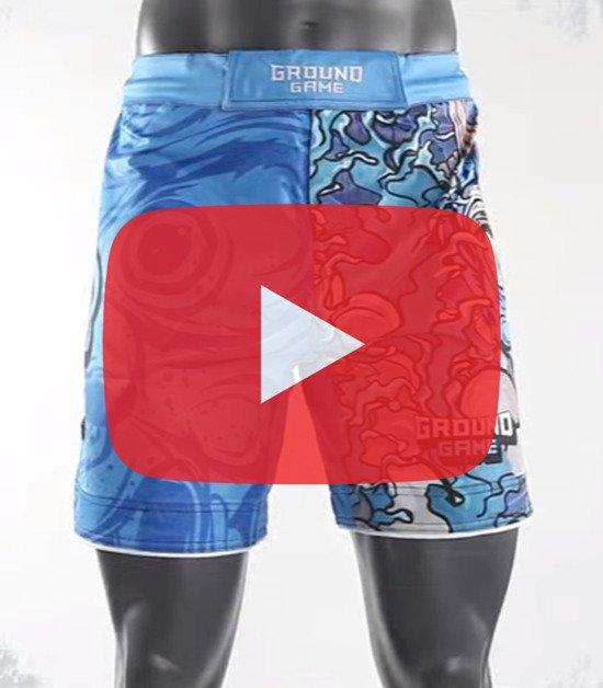 "MMA Shorts ""Oni"""