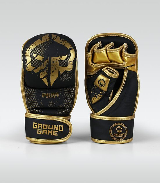 """MMA Sparing Gloves """"Cage Gold"""""""